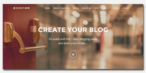 blog portal software best php blogs hosting script multi user