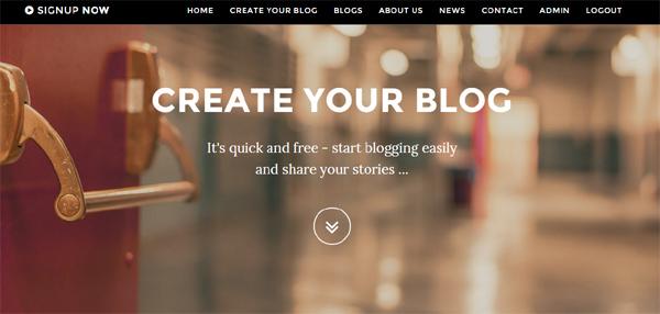 New version 4.0 of Blog System