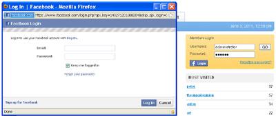 facebook unblock user login quickbooks