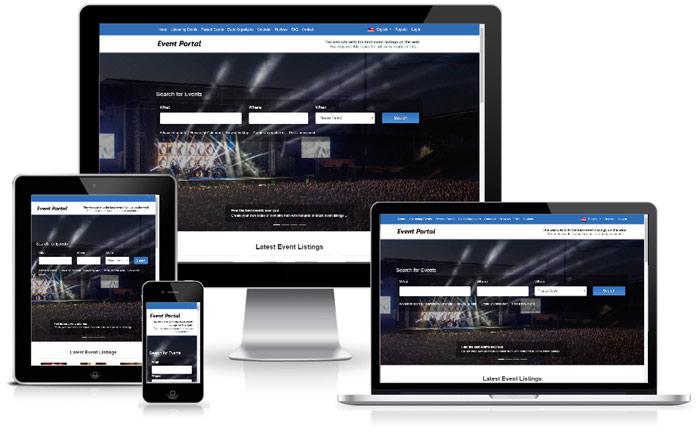 Advanced PHP Event Software   Open Source Events Script   Portail d