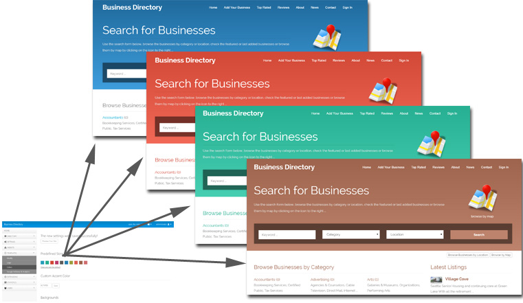 New version 4.0 of PHP Business Directory