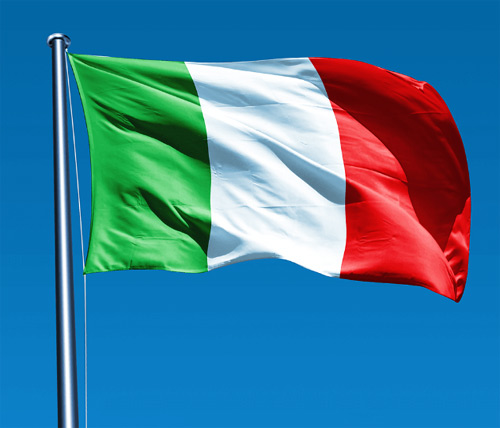 Italian versions and technical support in Italian language