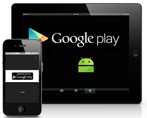 Custom Android application for your website published on Google Play