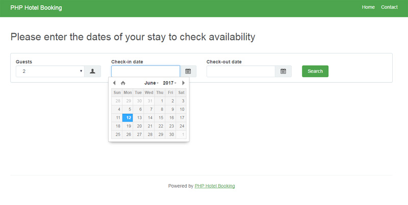 Free php hotel booking script-download free booking software php xml