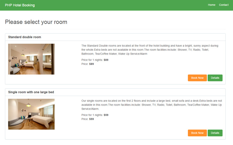 Free php hotel booking script-download free booking software