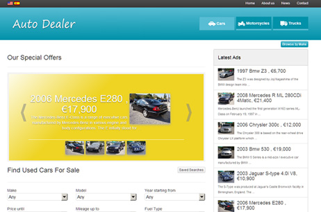 PHP Car Dealer
