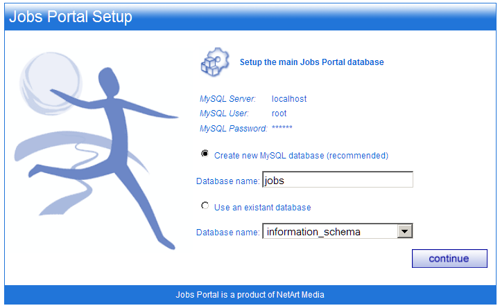 how to create a searchable database for your website