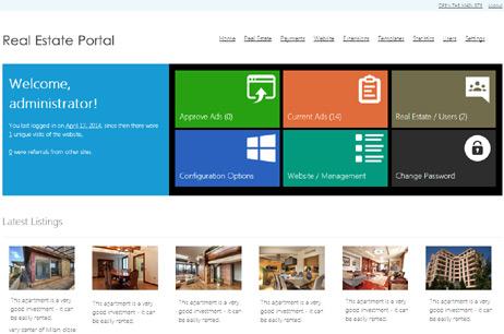Online demo real estate portal script property finder software ...