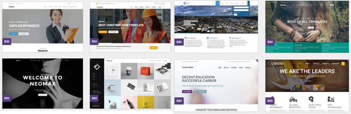 free responsive template integration service